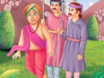 Tenali Rama Story: Tenali Rama Outwits the Guards