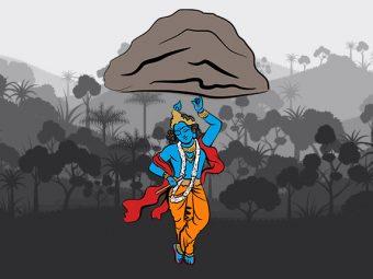 श्री कृष्ण और गोवर्धन पर्वत की कहानी   Shri Krishna Govardhan Parvat