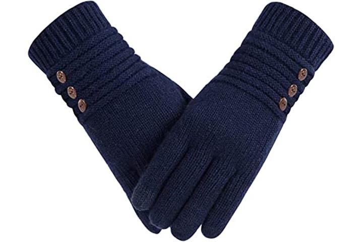 Alepo Winter Wool Warm Gloves For Women