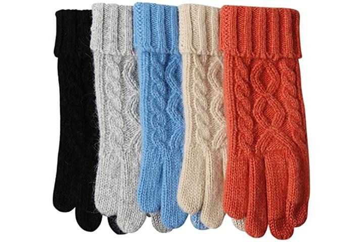 ELMA Women's Fleece Lined Gloves
