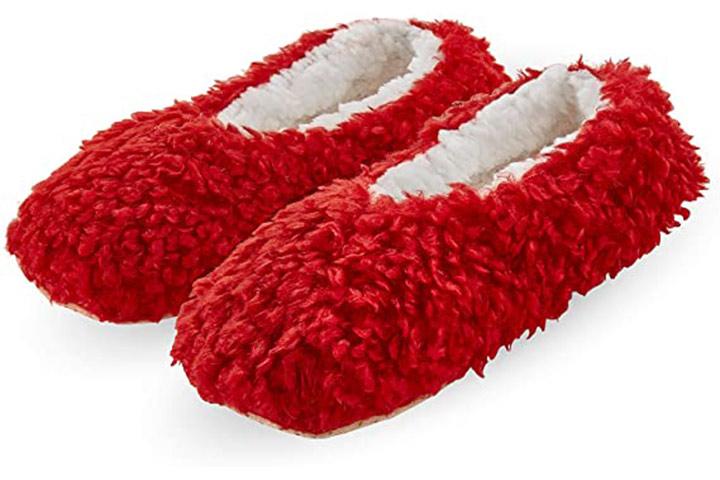 HUE Women's Fluffy Slipper