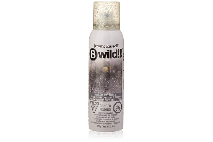 Jerome Russell B Wild Hair And Body Glitter