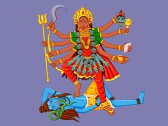 काली मां ने क्यों रखा शिव जी के ऊपर पैर? | Kali Maa And Shiva Story In Hindi