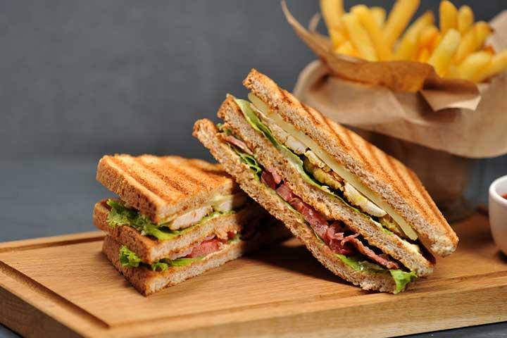 Potato sandwich
