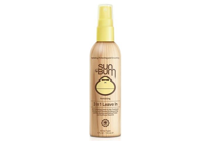 Sun Bum Revitalizing 3-in-1 Leave-in Hair Conditioner Spray
