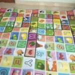 Paramount Anti Skid Double Sided Play Mat Alphabet Print-Double sided play mat-By chithrasara