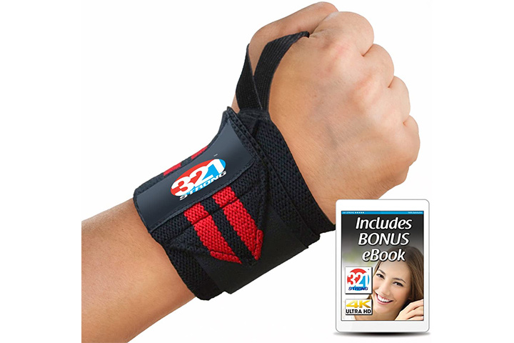 321 STRONG Wrist Wraps 14
