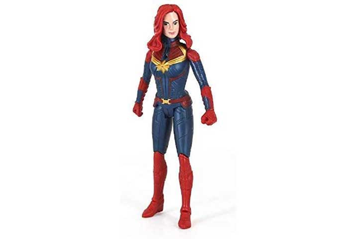 Anvittoyworld Captain Marvel Action Figure Toy with Sound