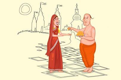 ब्राह्मणी और तिल के बीज पंचतंत्र की कहानी   Brahmani Aur Til Ke Beej In Hindi