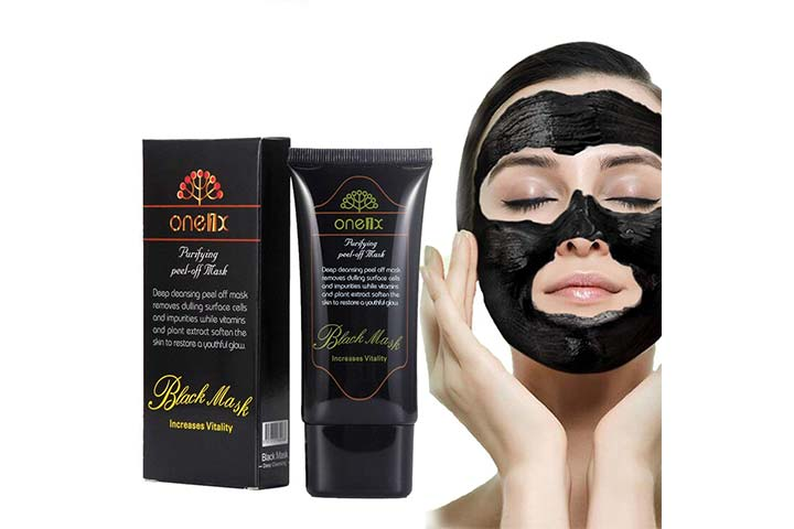 DISAAR Blackhead Activated Natural Charcoal Cleansing Mask