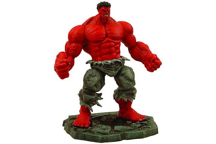 Diamond Select Marvel Select Red Hulk Action Figure