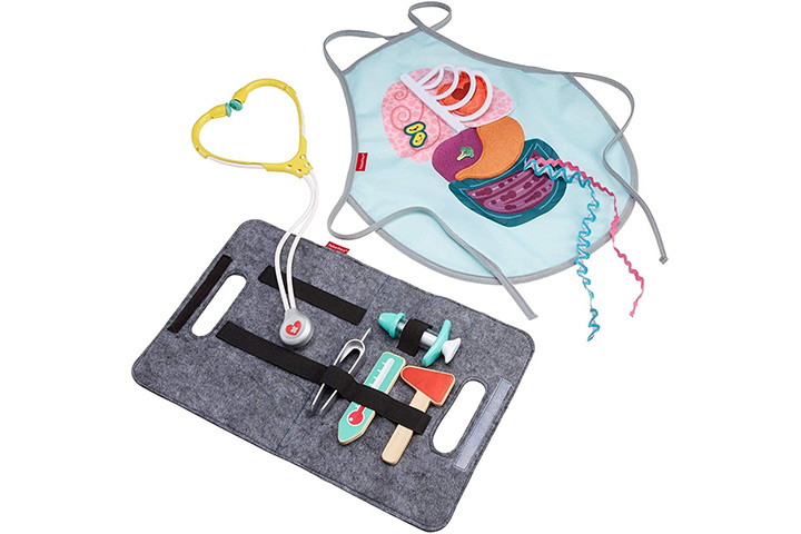 Fisher-Price Patient And Doctor Kit For Kids