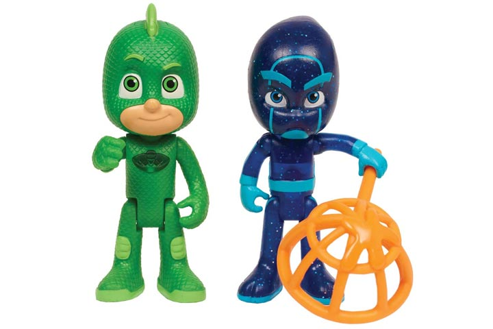 Gekko And Night Ninja Light Up Figures