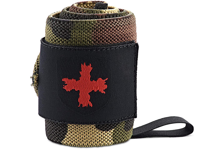 Harbinger Red Line 18-Inch Weightlifting Wrist Wraps For Men And Women