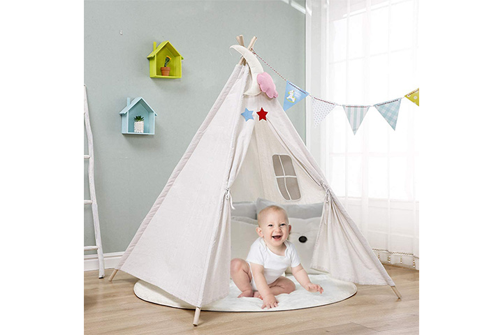 IREENUO Teepee Tent For Kids
