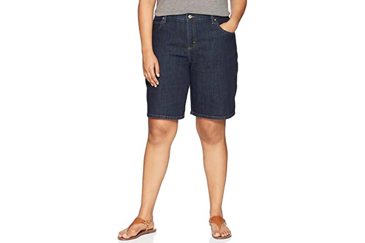 LEE Womens Plus Size Relaxed fit Bermuda Short