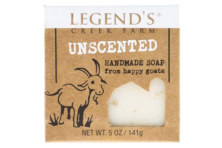 Legends Creek Farm Unscented Handmade Soap