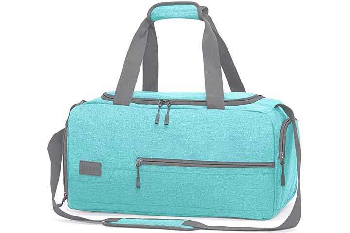 MarsBro Water Resistant Sports Gym Travel Weekender Duffel Bag