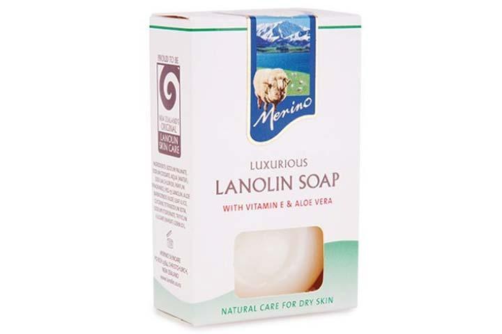 Merino Luxurious Lanolin Soap