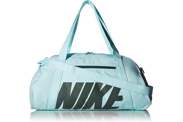 Nike Women's Gym Club Bag in Black Grey