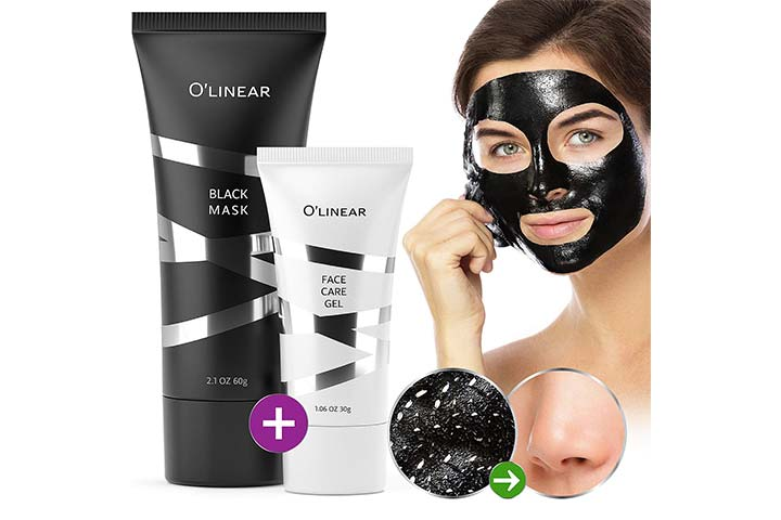 O'linear Black Charcoal Face Peel Off Mask Blackhead Remover