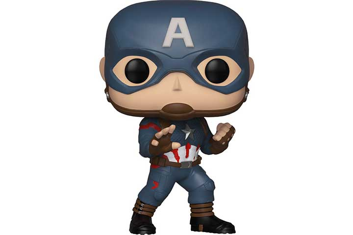 POP! Avengers End Game - Captain America in Full Uniform Pop Bobblehead Figure