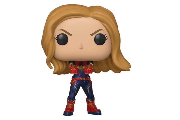 POP! Avengers End Game - Captain Marvel Pop Bobblehead Figure