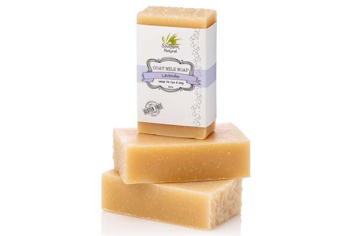 Southern Natural Lavender Goat Milk Soap