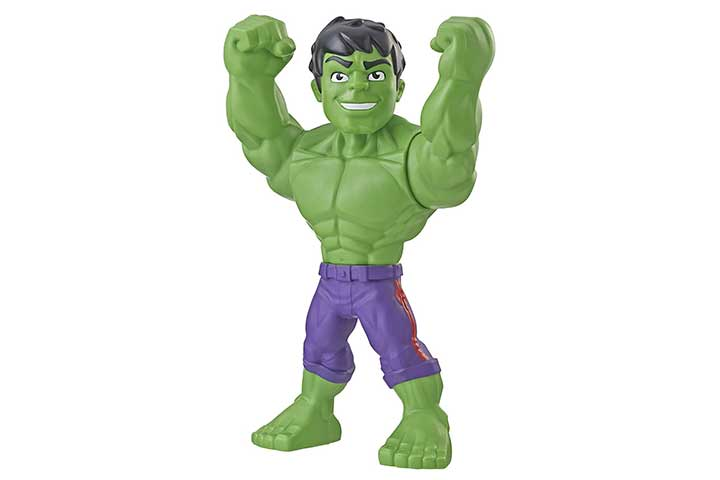Super Hero Adventures Marvel Mega Mighties Hulk Collectible