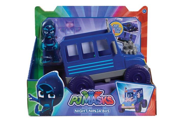 Superhero Night Ninja And Vehicle