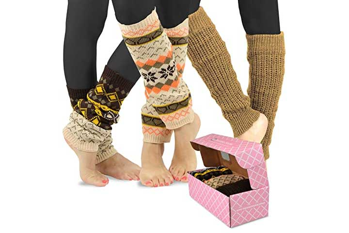 TeeHee Womens Fashion Leg Warmers
