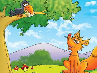 The Fox And The Crow Story For Kids In English, With Moral