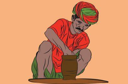 पंचतंत्र की कहानी: कुम्हार की कथा    The Potter Story In Hindi