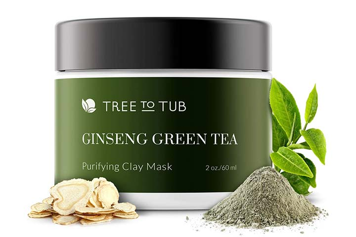 Tree To Tub Activated Charcoal Clay Mask for Sensitive Skin