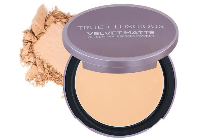 True Luscious Velvet Matte Face Powder Compact