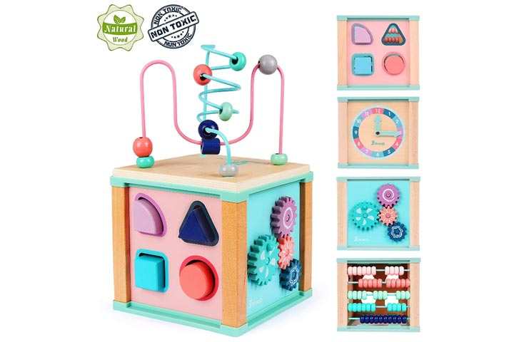 Ulmisfee Activity Cube Toy