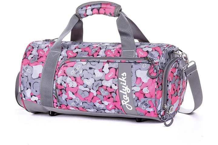 Waterproof Sports Gym Bag with Shoes Compartment by Ralyiks