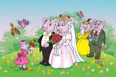 चुहिया के स्वयंवर की कहानी   The Wedding Of The Mouse Story In Hindi