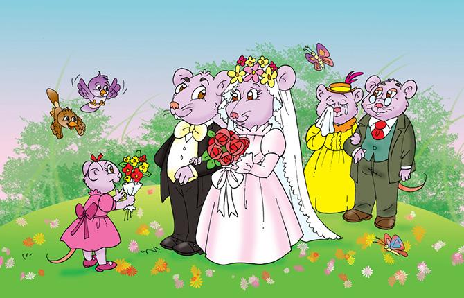 Wedding Of The Mouse Story