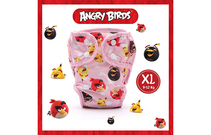 Angry Birds Reusable Cloth Diapers