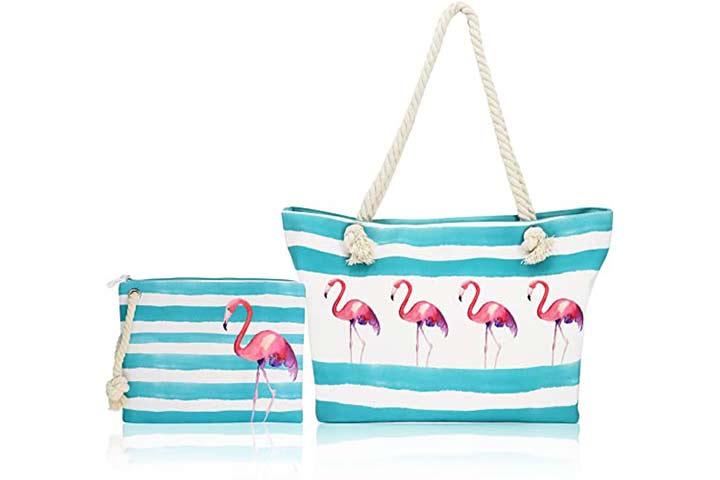 Beach Bag-Twine Beach Bags, Travel Beach Bag