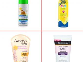 बच्चों के लिए 17 बेस्ट सनस्क्रीन लोशन | Best Baby Sunscreen Lotion To Buy In India