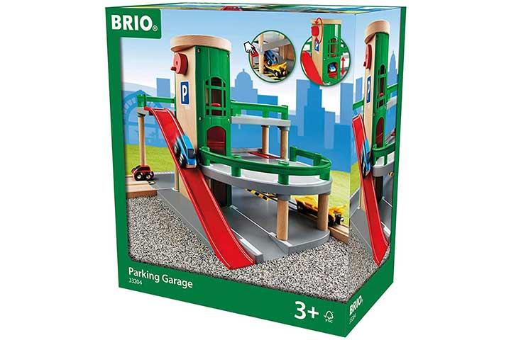 Brio World- 33204 Parking Garage Playset