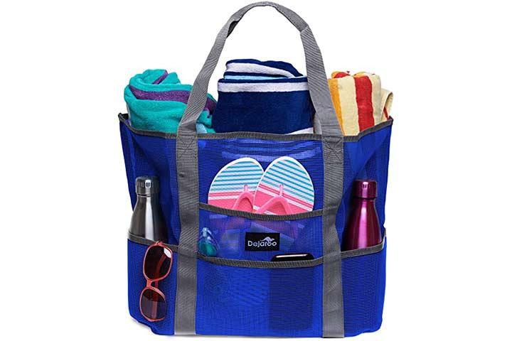 Dejaroo Mesh Beach Bag – Toy Tote Bag