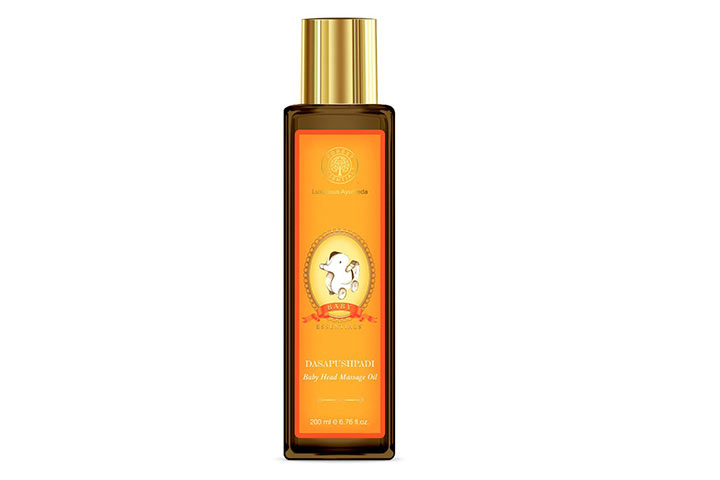 Forest Essentials Baby Head Massage Oil