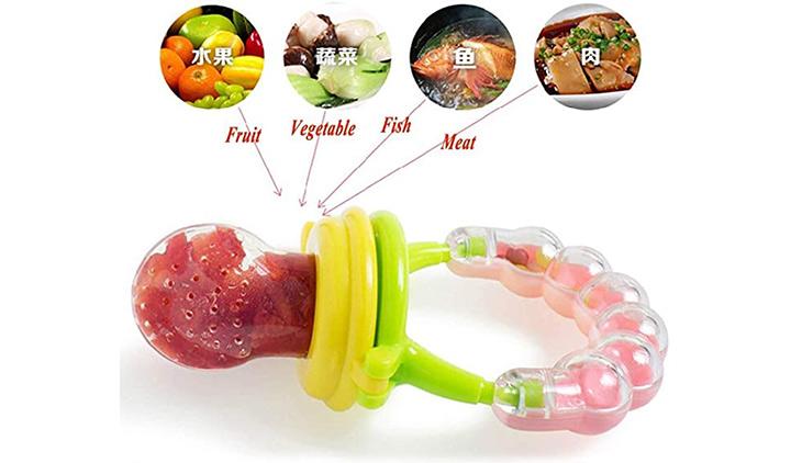 Honey Boo BPA-Free Silicon Food Nibbler Fruit
