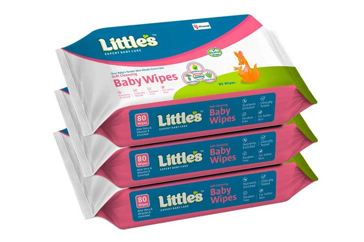 Little Soft Cleansing Baby Wipes