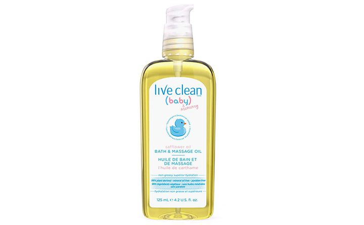 Live Clean Baby & Mom Massage Oil