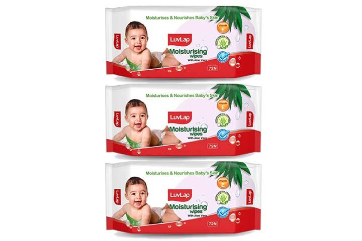 Lovelab Parabens Free Baby Wipes