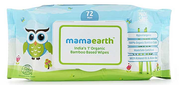 Mama Earth Organic Babu Based Baby Wipes